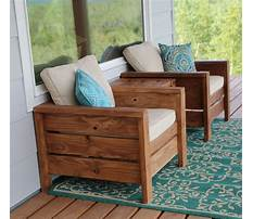 Best How to build outside chair