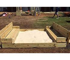 Best How to build sandbox with seats