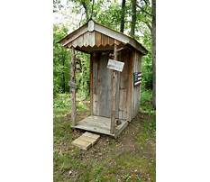 Best How to build the best outhouse