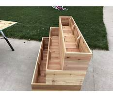 Best How to build tiered planter box