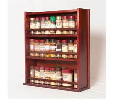 Best How to build wood spice rack