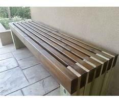 Best How to build wooden benches for a deck