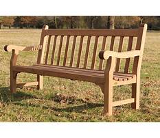 Best How to build wooden park bench