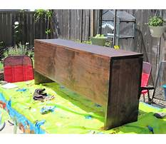 Best How to build your own storage bench