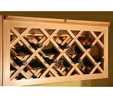 Best How to design a wooden wine rack