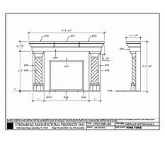 Best How to draw a fireplace in plan view