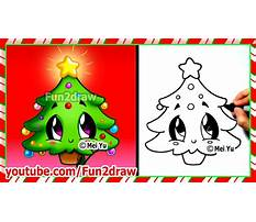 Best How to draw simple christmas picture