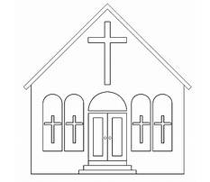 Best How to draw simple churches