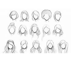 Best How to draw simple hair