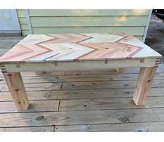 Best How to make a coffee table from wood pallets