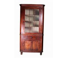 Best How to make a corner china cabinet