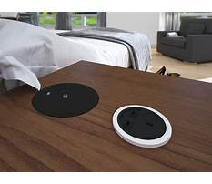 Best How to make a desk with hidden wireless charging