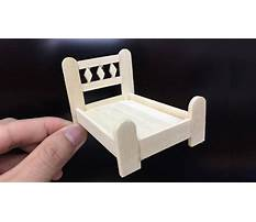 Best How to make a doll bed with popsicle sticks