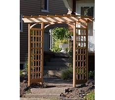 Best How to make a garden arbor.aspx