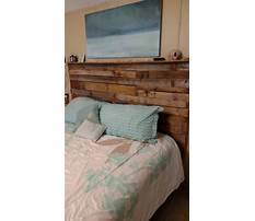 Best How to make a king headboard out of a door