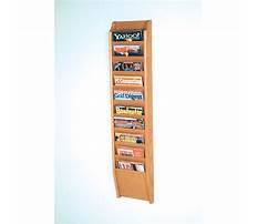 Best How to make a magazine rack for a wall