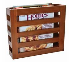 Best How to make a magazine rack holder