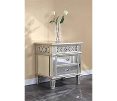 Best How to make a mirrored nightstand