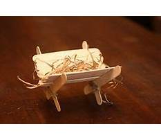 Best How to make a nativity scene out of popsicle sticks