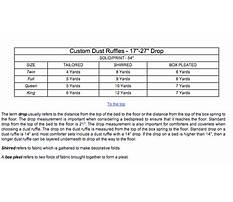 Best How to make a queen size box pleated bed skirt