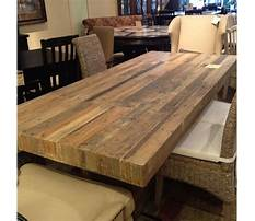 Best How to make a reclaimed wood table top
