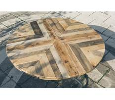 Best How to make a round table top with trex