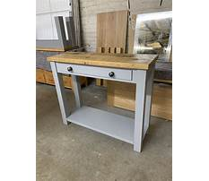 Best How to make a rustic sofa table