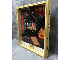 Best How to make a shadow box display for a wwii