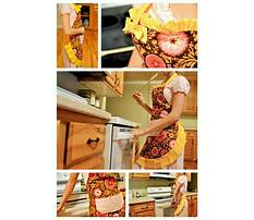 Best How to make a shop apron without sewing