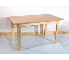 Best How to make a simple table