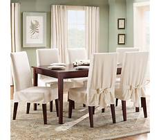 Best How to make a slipcover for a dining room chair