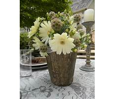 Best How to make a tree trunk vase