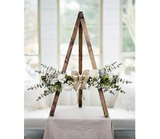 Best How to make a wedding easel