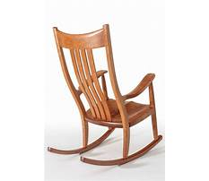 Best How to make a wooden rocking chair more comfortable