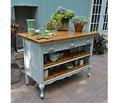 Best How to make an old dresser into a kitchen island