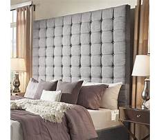 Best How to make an upholstered bed headboard