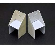 Best How to make chair origami