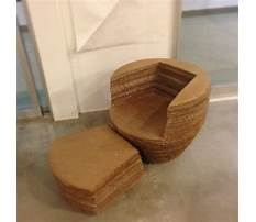 Best How to make chair using cardboard