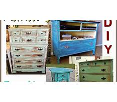 Best How to make furniture look vintage with paint