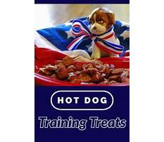 Best How to make hot dog training treats