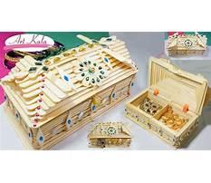 Best How to make jewellery box with ice cream sticks