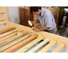 Best How to make queen size bed slats