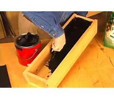 Best How to make wood planter waterproof