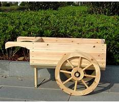 Best How to make wooden garden wheelbarrow