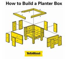 Best How to make wooden planter boxes.aspx