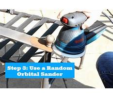 Best How to paint metal patio chairs by home repair tutor
