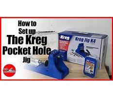 Best How to set up the kreg pocket hole jig