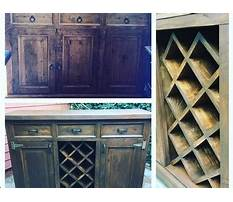 Best How to transform a dresser into a buffet with a wine rack by chic doctor