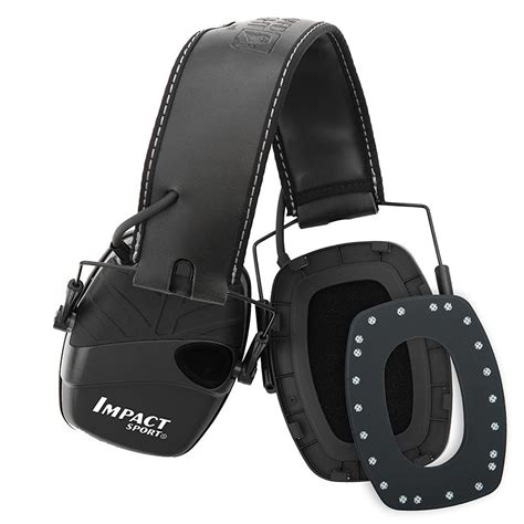 Howard Leight  Impact Sound Amplification Earmuffs.