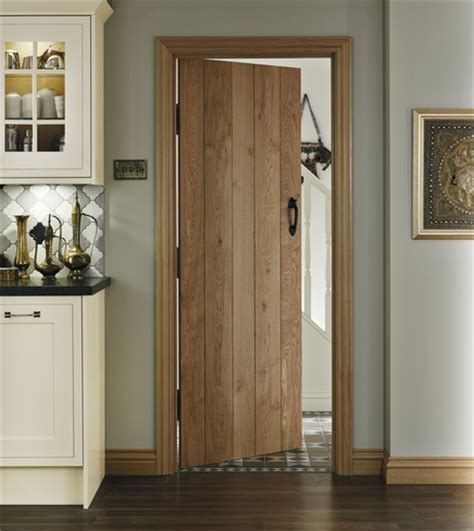 Howdens Oak Plank Door